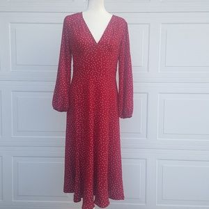 New Vintage Suzanne Betro Polka Dot Dress